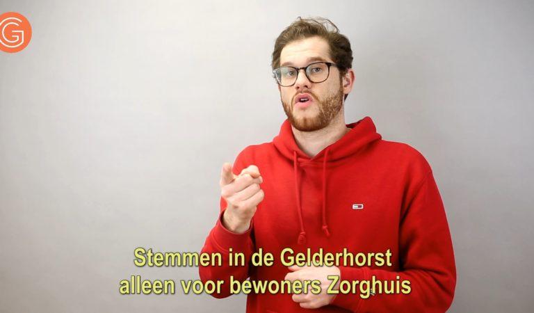 Stemmen in de Gelderhorst alleen voor bewoners Zorghuis Gelderhorst