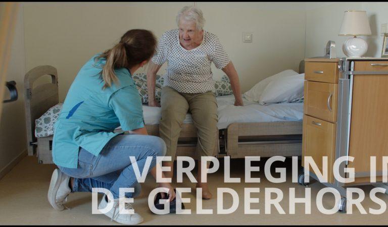 Filmpje over verpleging in de Gelderhorst